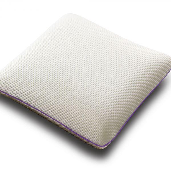 Oreiller à mémoire de forme ergonomique Polyester 55x55