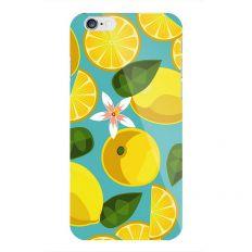 Coque à motif yellow lemon pour iPhone 6S/6