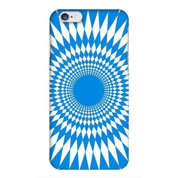Coque à motif psychedelique bleu pour iPhone 7/6S/6