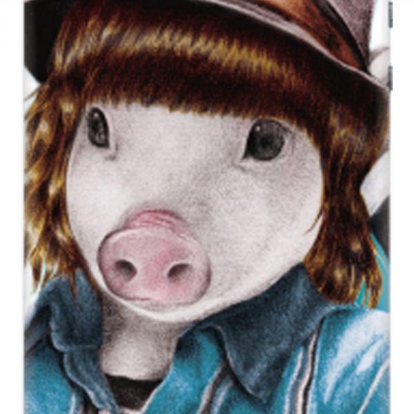 Coque de protection ms. Piggy iPhone SE/5S/5