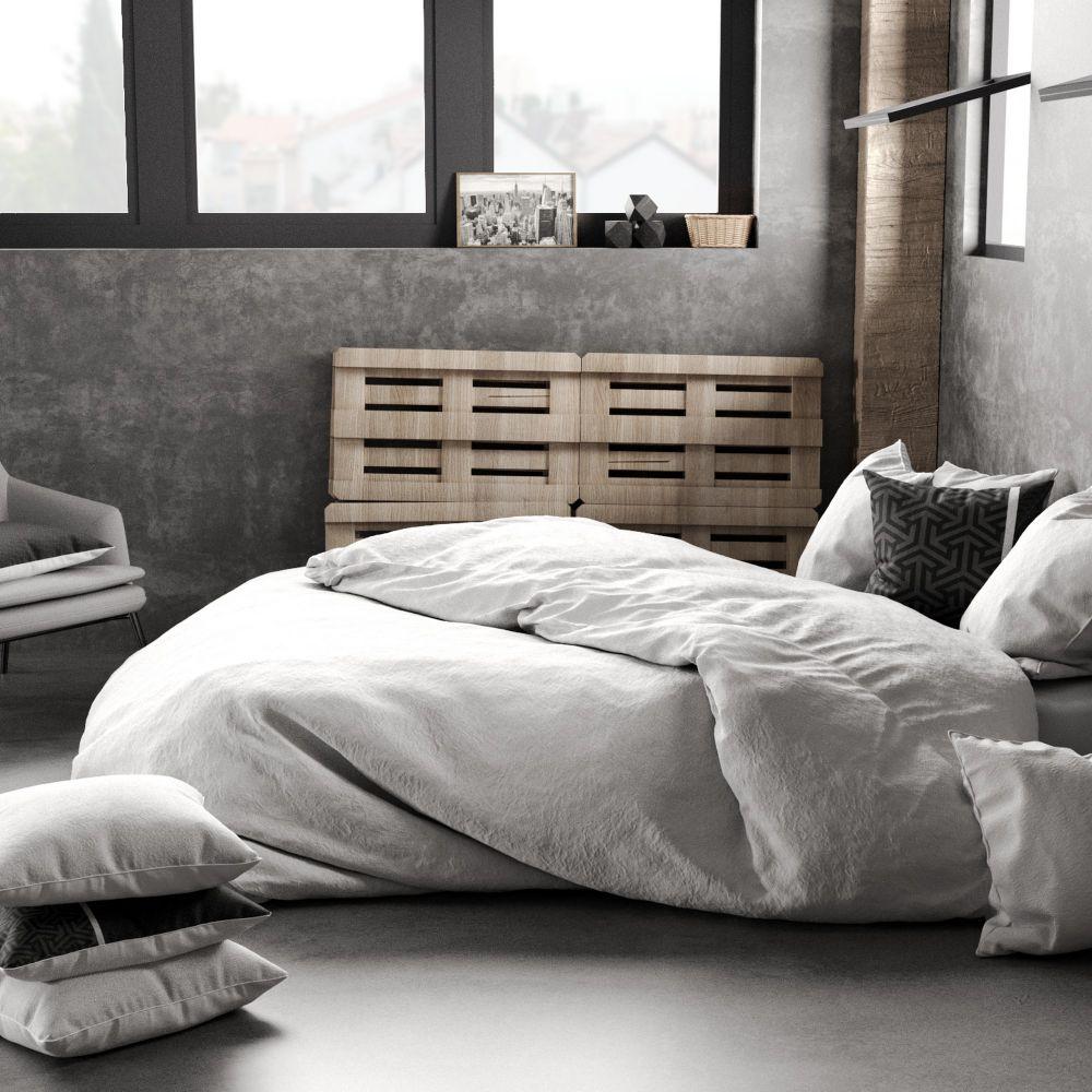 housse de couette 100 lin blanc pas cher. Black Bedroom Furniture Sets. Home Design Ideas