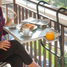Table pliante pour balcon