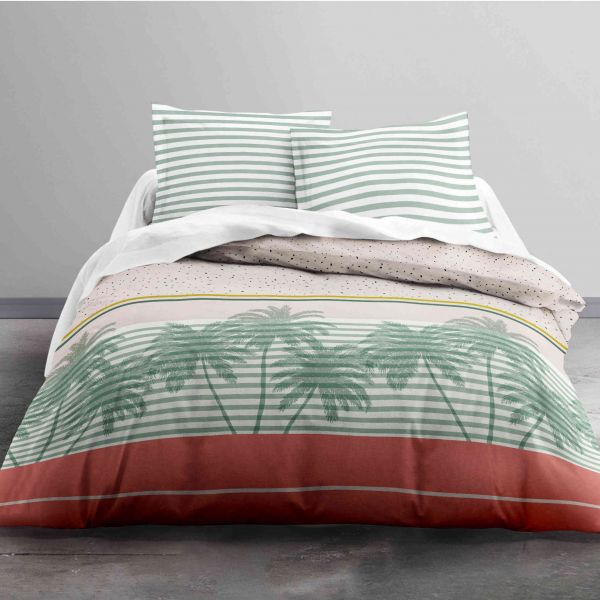 Parure de lit Today Sunshine Palms 100% coton