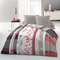 Parure de couette 220x240 cm 100% Polyester 72 gsm Japanese Bamboo
