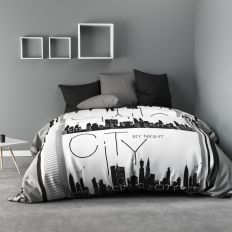 Parure de drap 240x300 cm 100% Microfibre City By Night