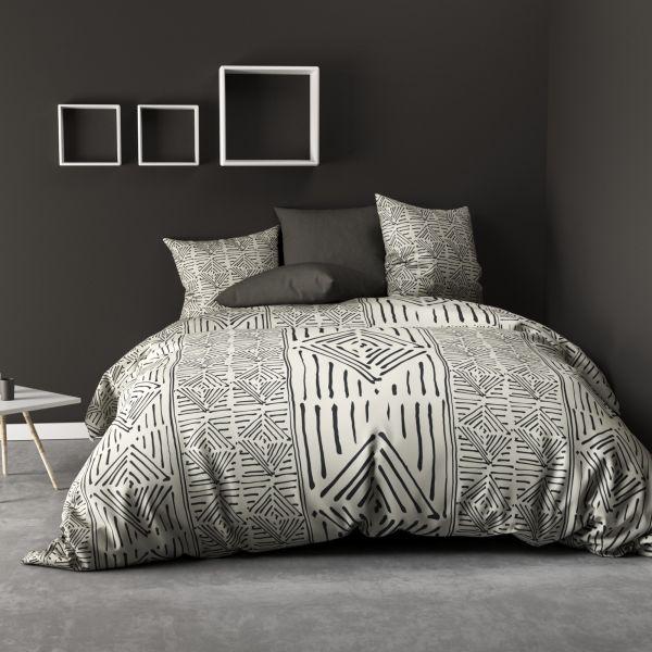 Parure de lit - Housse de couette 100% Coton 57 fils Berbere