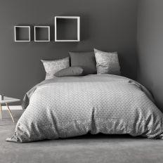 Parure de lit - Housse de couette 100% Coton 57 fils Black Solaris