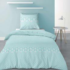Parure de lit - Housse de couette 100% Polyester 60 gsm Fanny