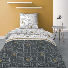 Parure de lit - Housse de couette 100% Polyester 60 gsm Niagara Gold