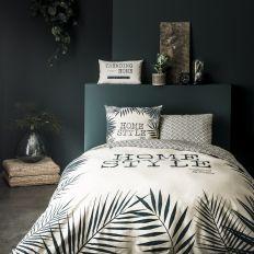 Parure de lit - Housse de couette 100% Coton 57 fils Home Style