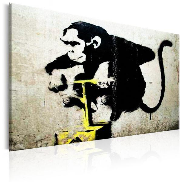 Tableau Monkey Detonator by Banksy