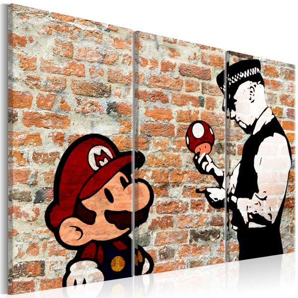 Tableau Caught Mario