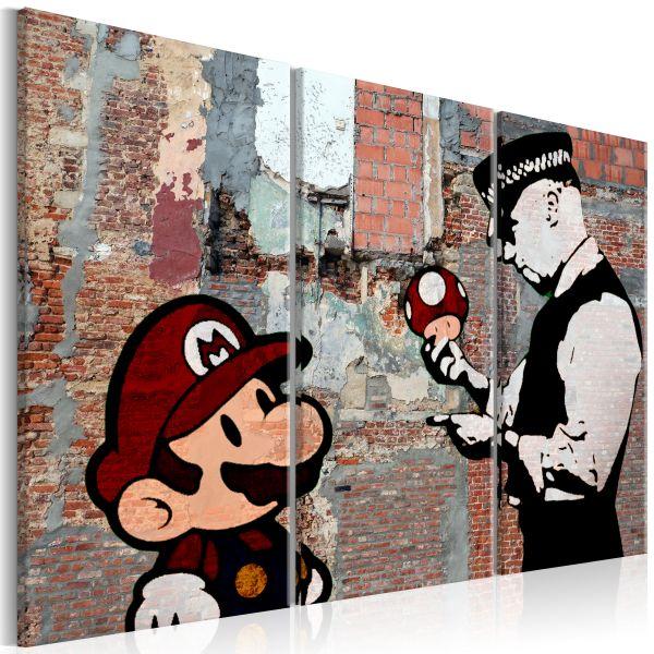 Tableau Banksy Warning