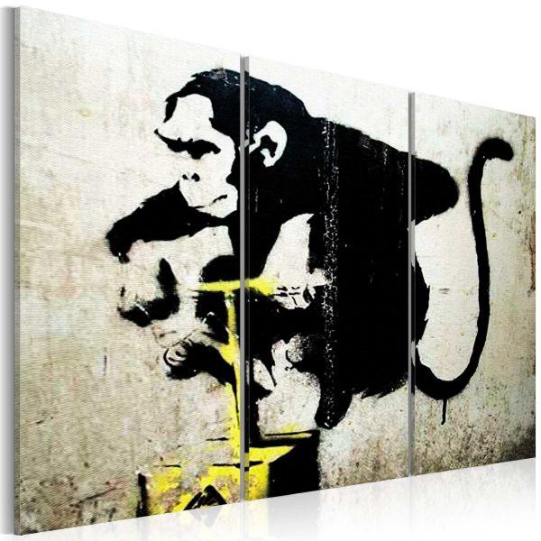 Tableau Monkey TNT Detonator by Banksy