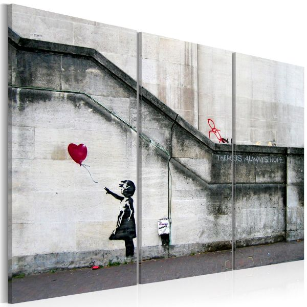 Tableau Girl With a Balloon by Banksy