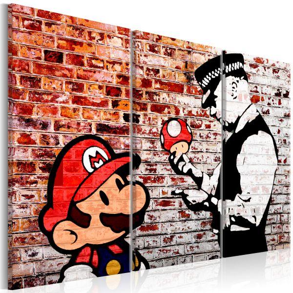 Tableau Mural on Brick