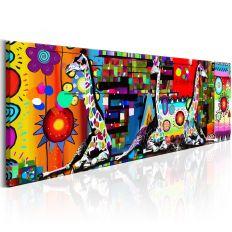 Tableau Colourful Savannah