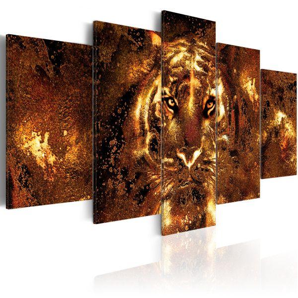 Tableau Golden Tiger