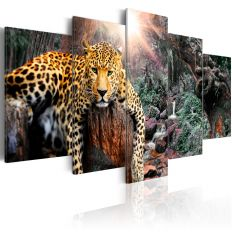Tableau Leopard Relaxation