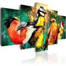 Tableau Birds Meeting