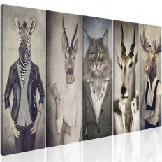 Tableau Animal Masks I
