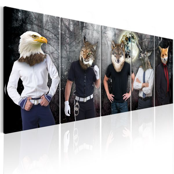 Tableau Animal Faces