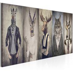 Tableau Animal Masks
