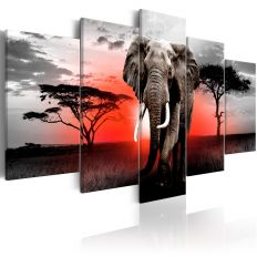 Tableau Lonely Elephant