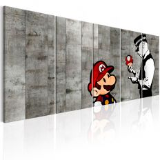 Tableau Graffiti on Concrete