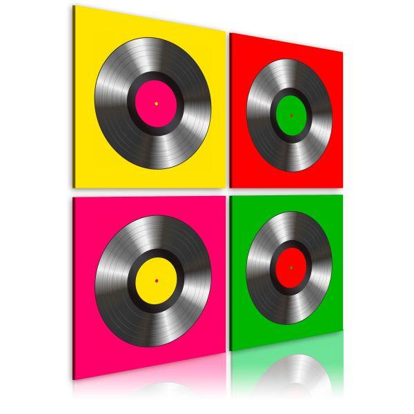 Tableau Vinyles Pop art