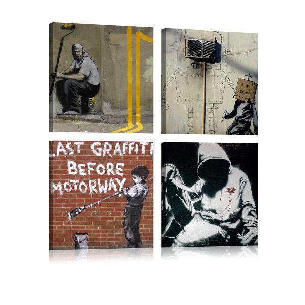 Tableau Banksy - Street Art