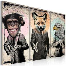 Tableau Affaires simiennes