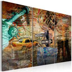 Tableau L'essence de New York