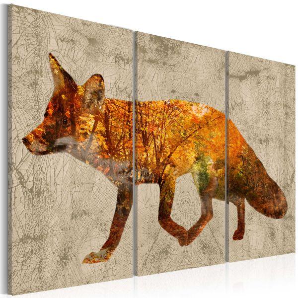 Tableau Fox in The Wood