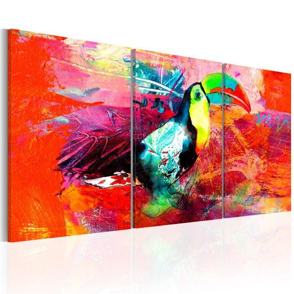 Tableau Colourful Toucan