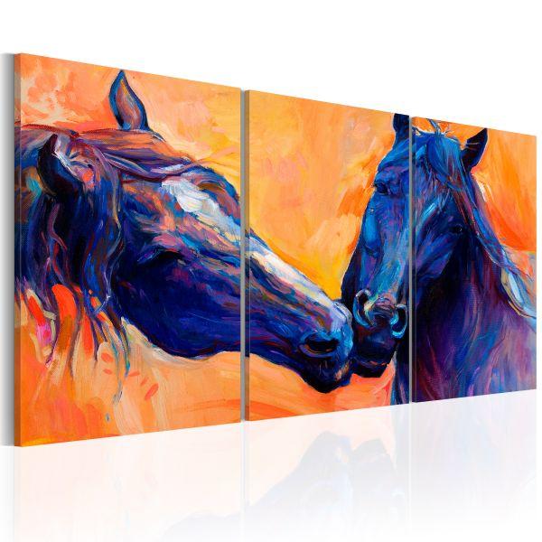 Tableau Blue Horses