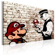 Tableau Banksy Torn Wall