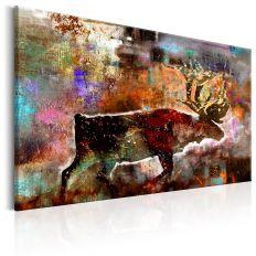 Tableau Colourful Caribou