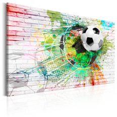 Tableau Colourful Sport Football