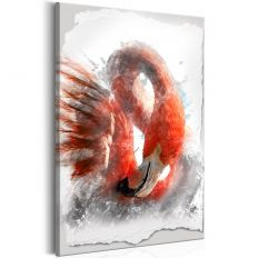 Tableau Red Flamingo
