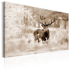 Tableau Deer in Sepia