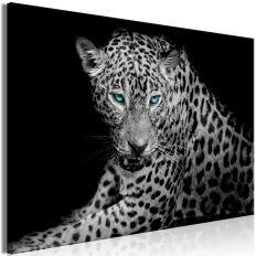 Tableau Leopard Portrait 1 Pièce Wide