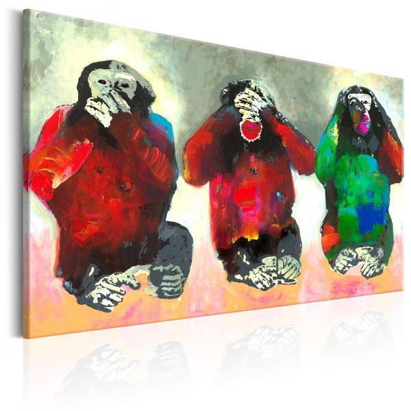 Tableau Three Wise Monkeys