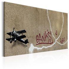 Tableau Love Plane by Banksy