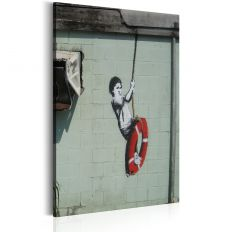 Tableau Swinger, New Orleans - Banksy