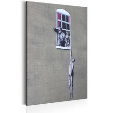 Tableau Well Hung Lover by Banksy