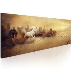 Tableau City of stallions