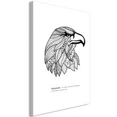 Tableau Eagle of Freedom 1 Pièce Vertical
