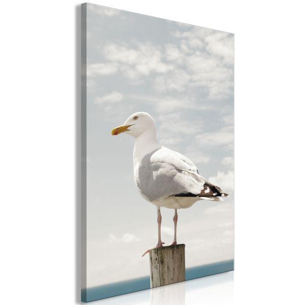 Tableau Seagull 1 Pièce Vertical