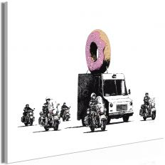 Tableau Donut Police 1 Pièce Wide